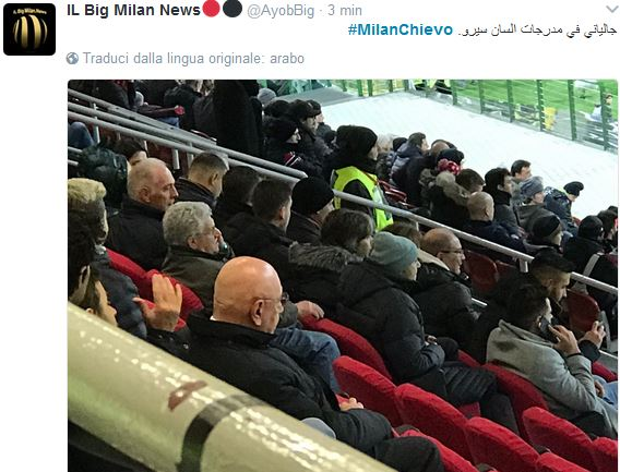 milanchievo galliani da dietro